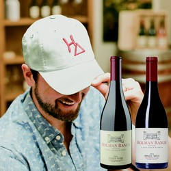 Father's Day Pinot Noir & White Hat Gift Set